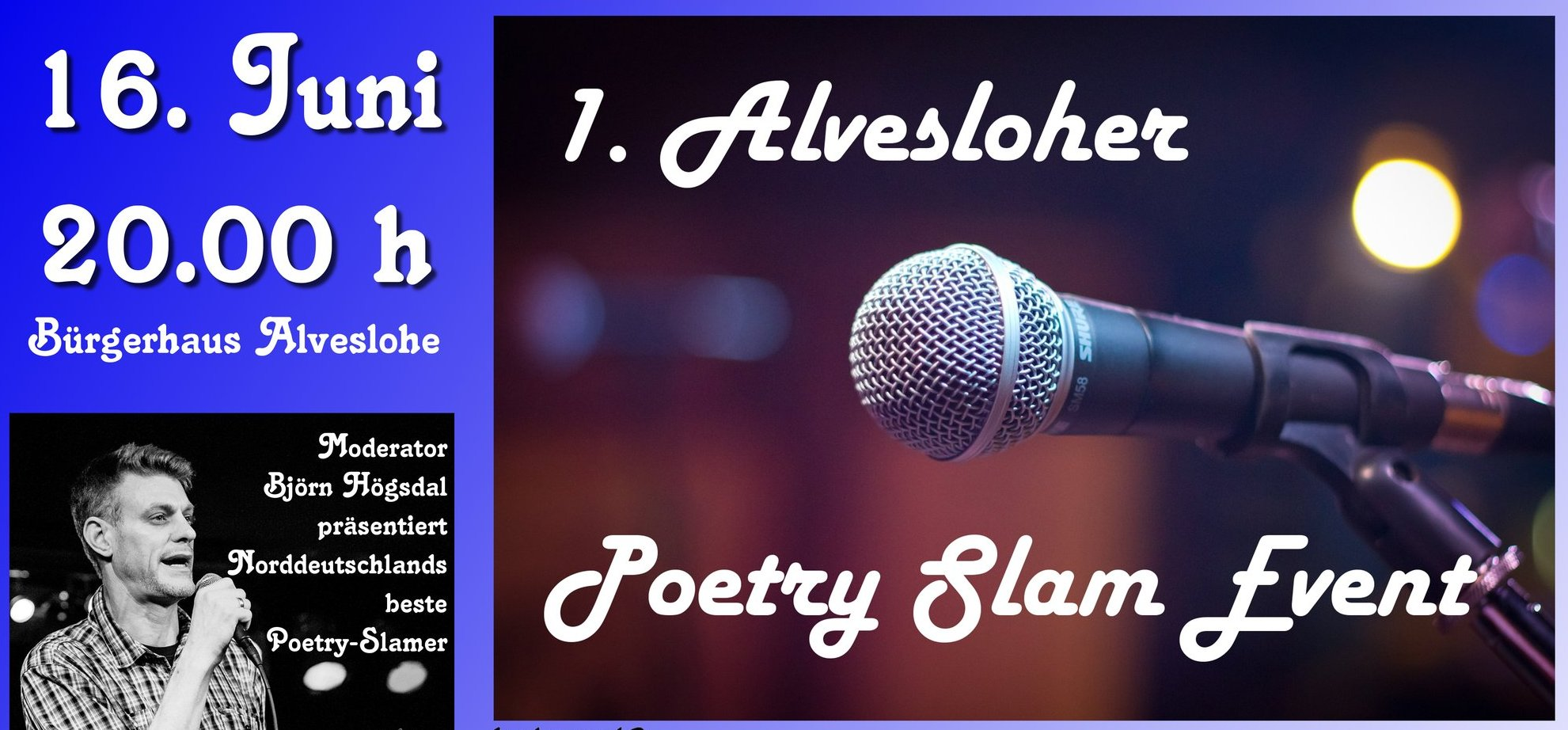 1. Alveslohe Poetry Slam