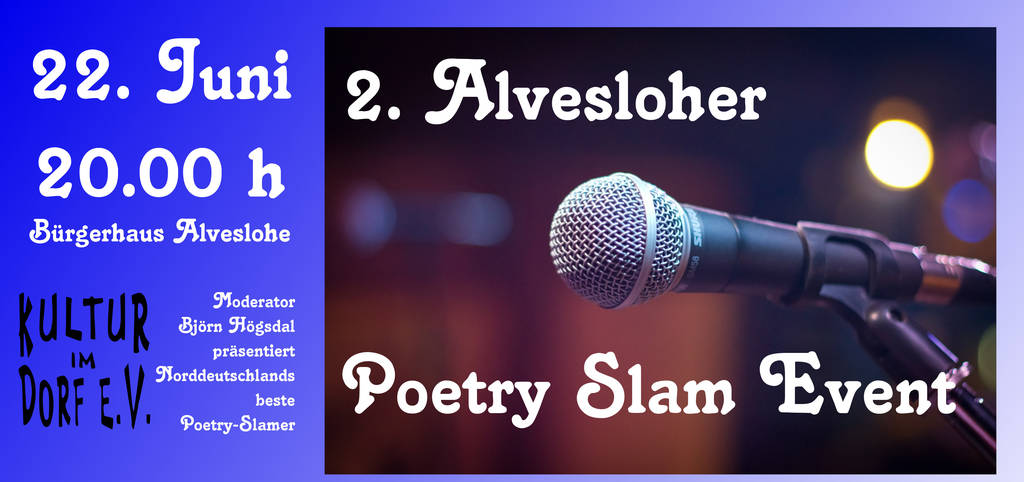 2. Alvesloher Poetry Slam