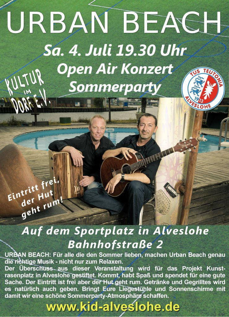 URBAN Beach Open Air Konzert